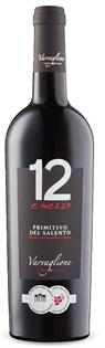 12 e Mezzo Primitivo del Salento 2014 750ml - Case of 12